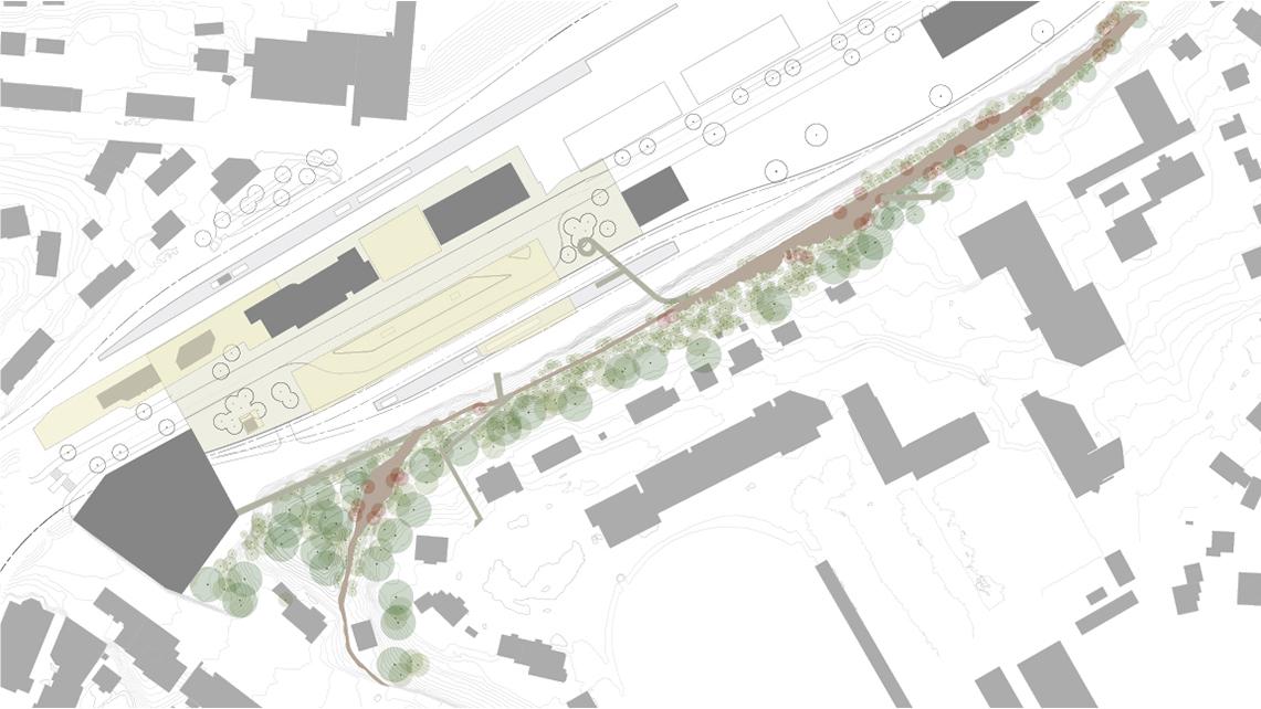 Herisau Station Square Hosoya Schaefer Architects